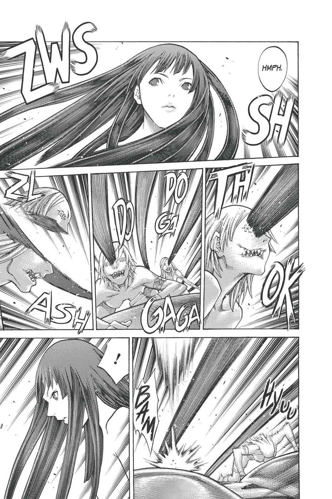 Claymore Chapter 93 Page 23