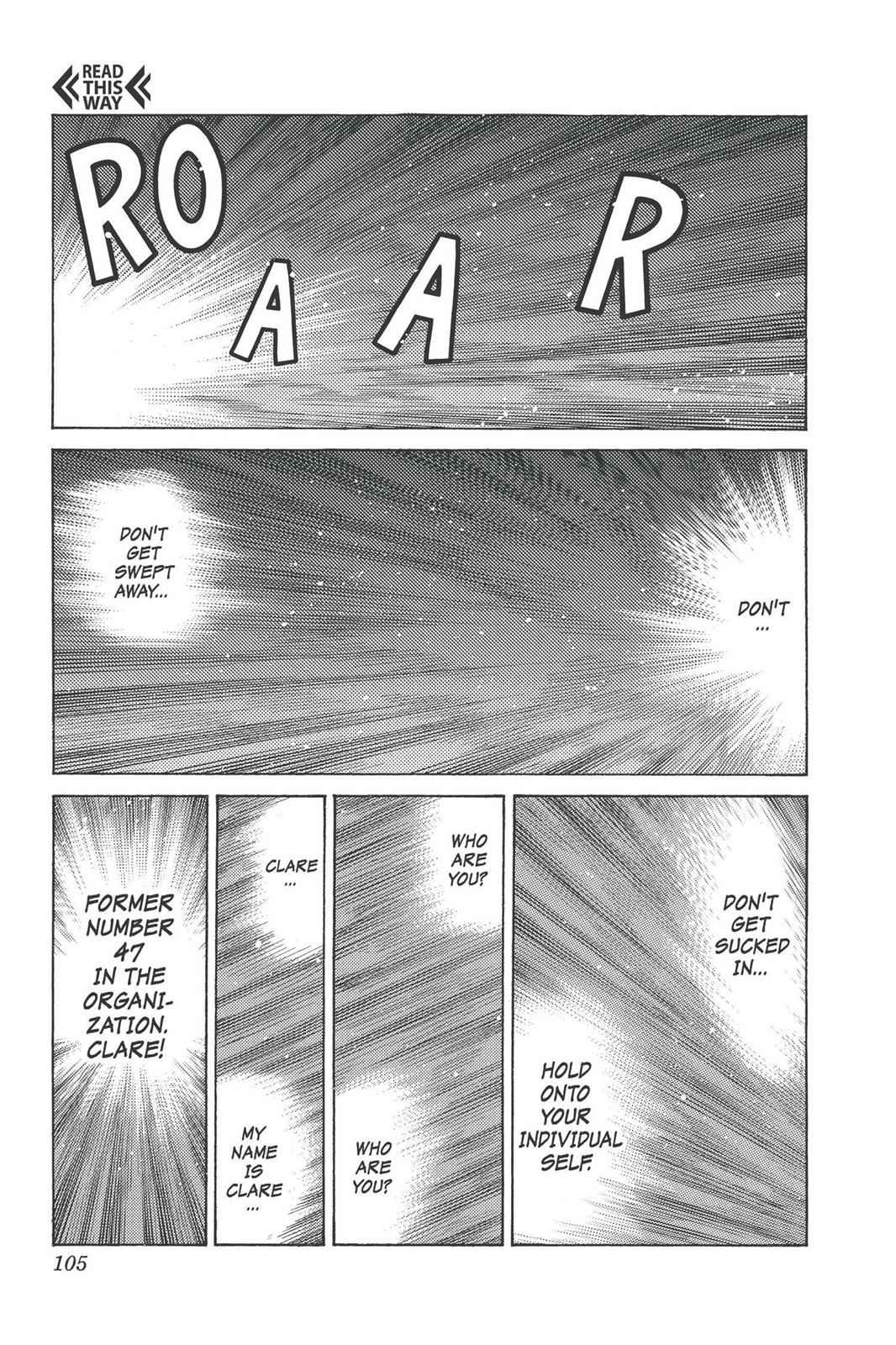 Claymore Chapter 93 Page 8