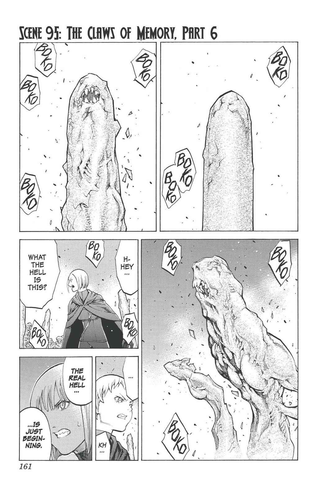Claymore Chapter 95 Page 1