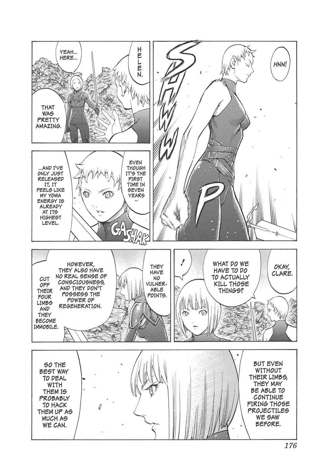 Claymore Chapter 95 Page 15