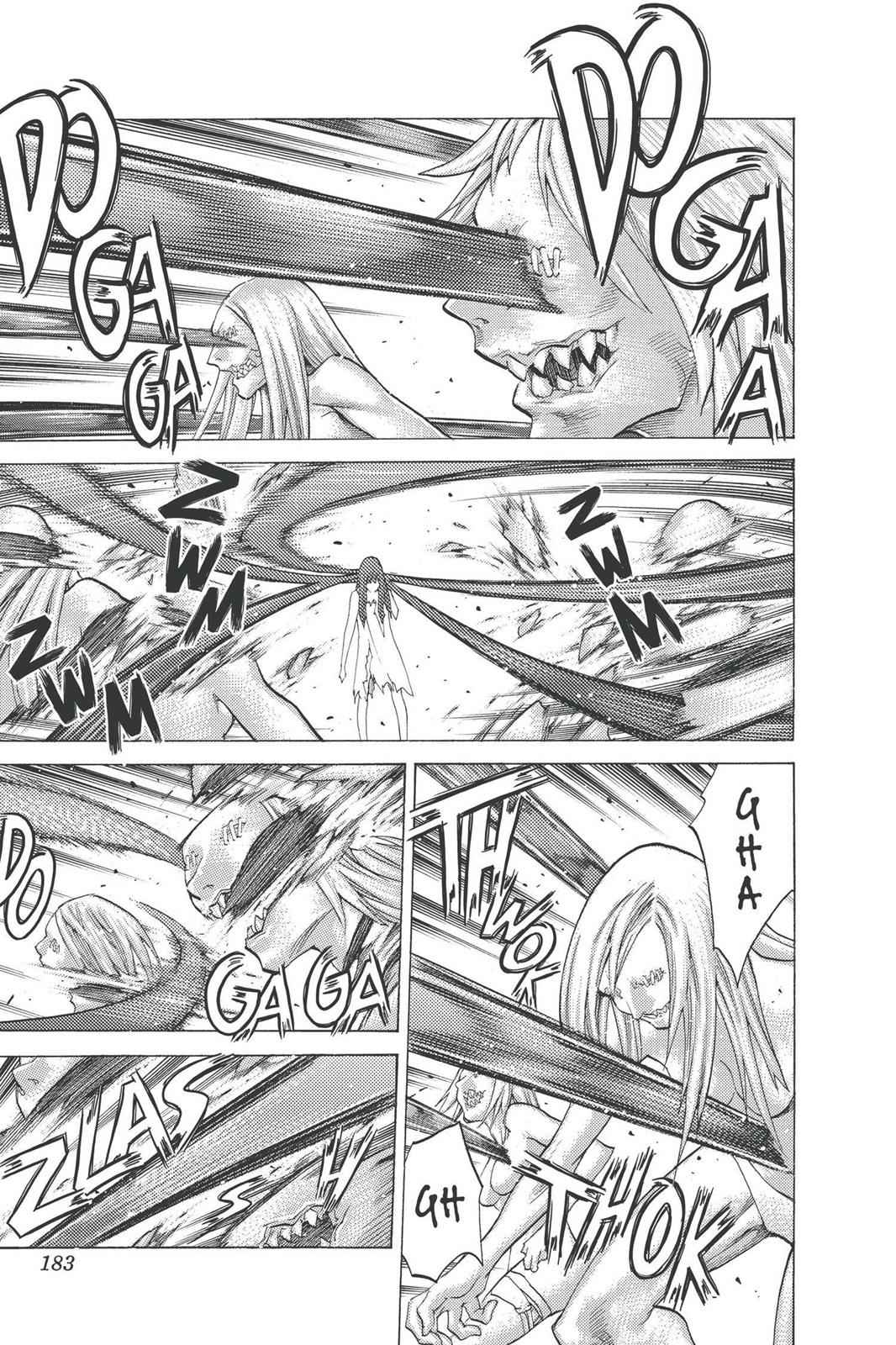 Claymore Chapter 95 Page 22