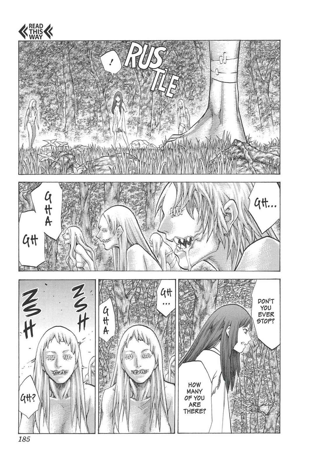 Claymore Chapter 95 Page 24