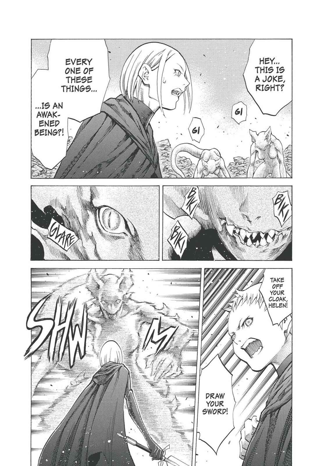Claymore Chapter 95 Page 3