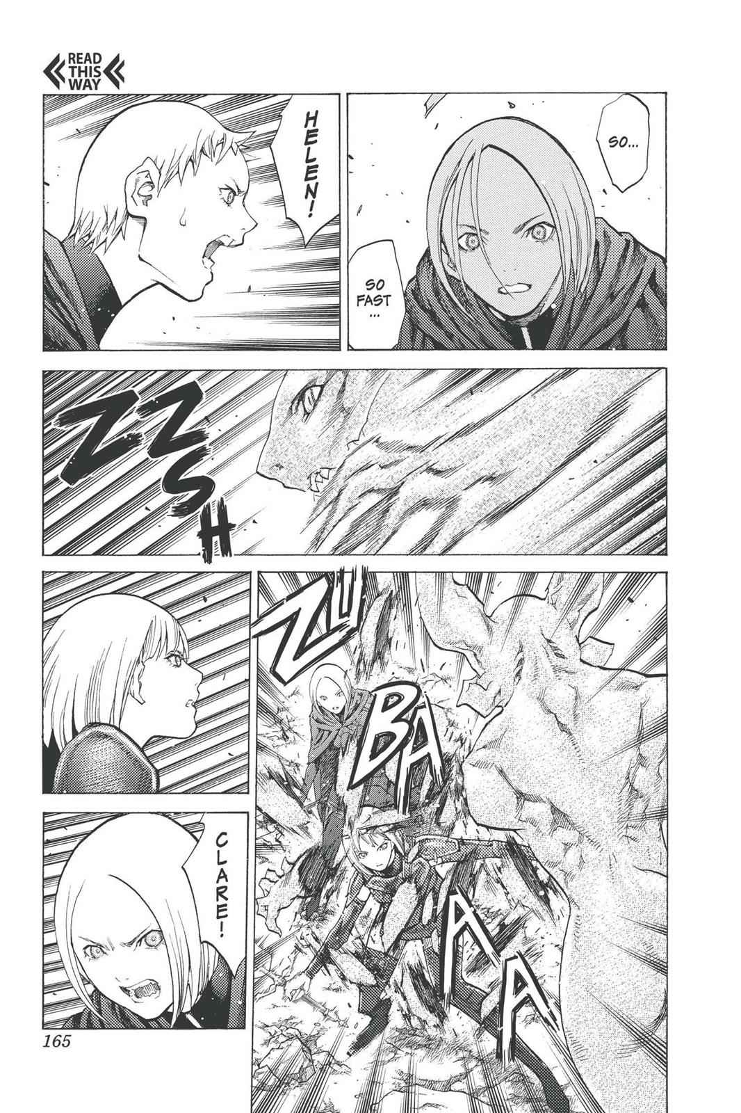 Claymore Chapter 95 Page 4
