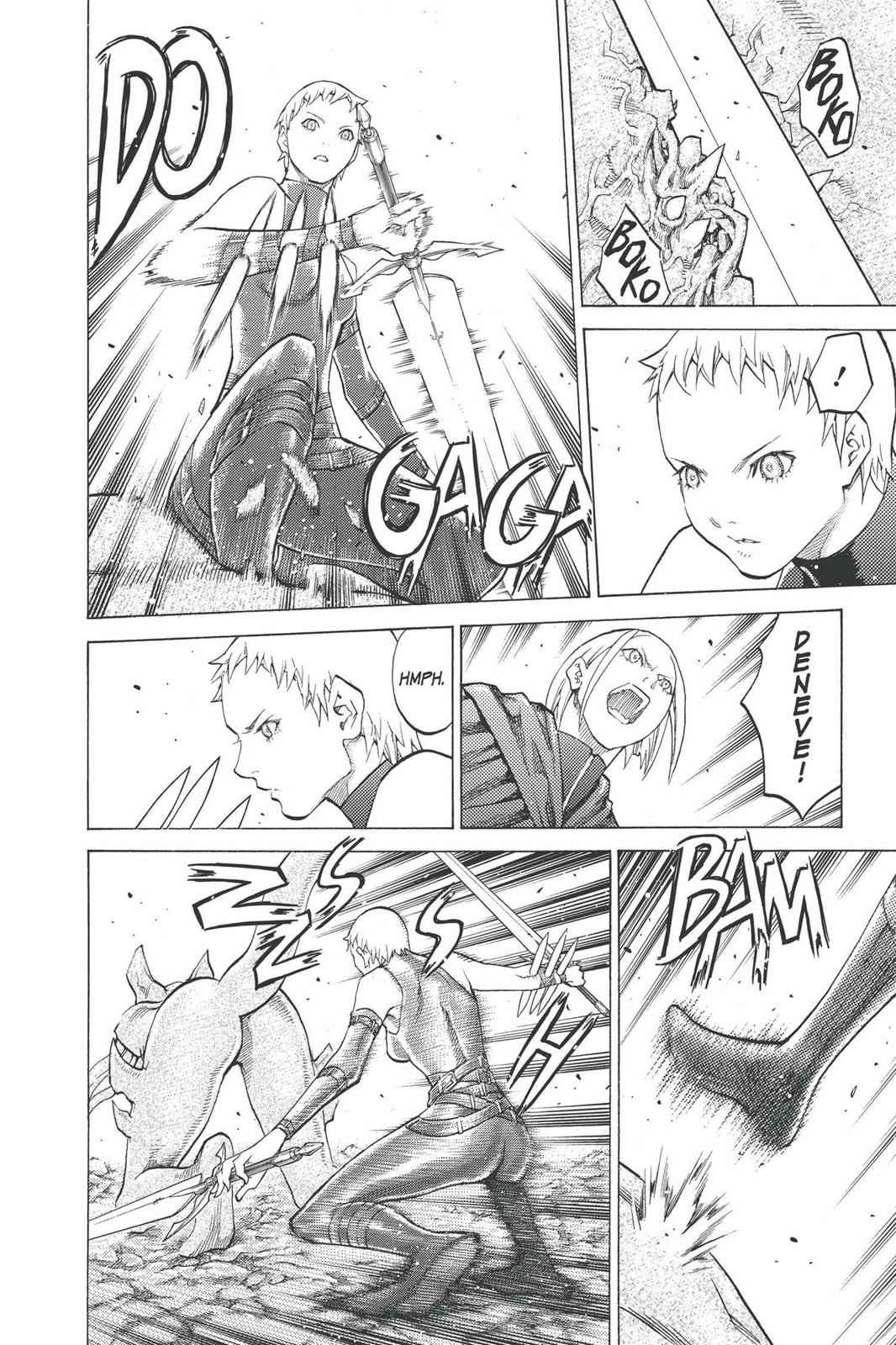 Claymore Chapter 95 Page 7