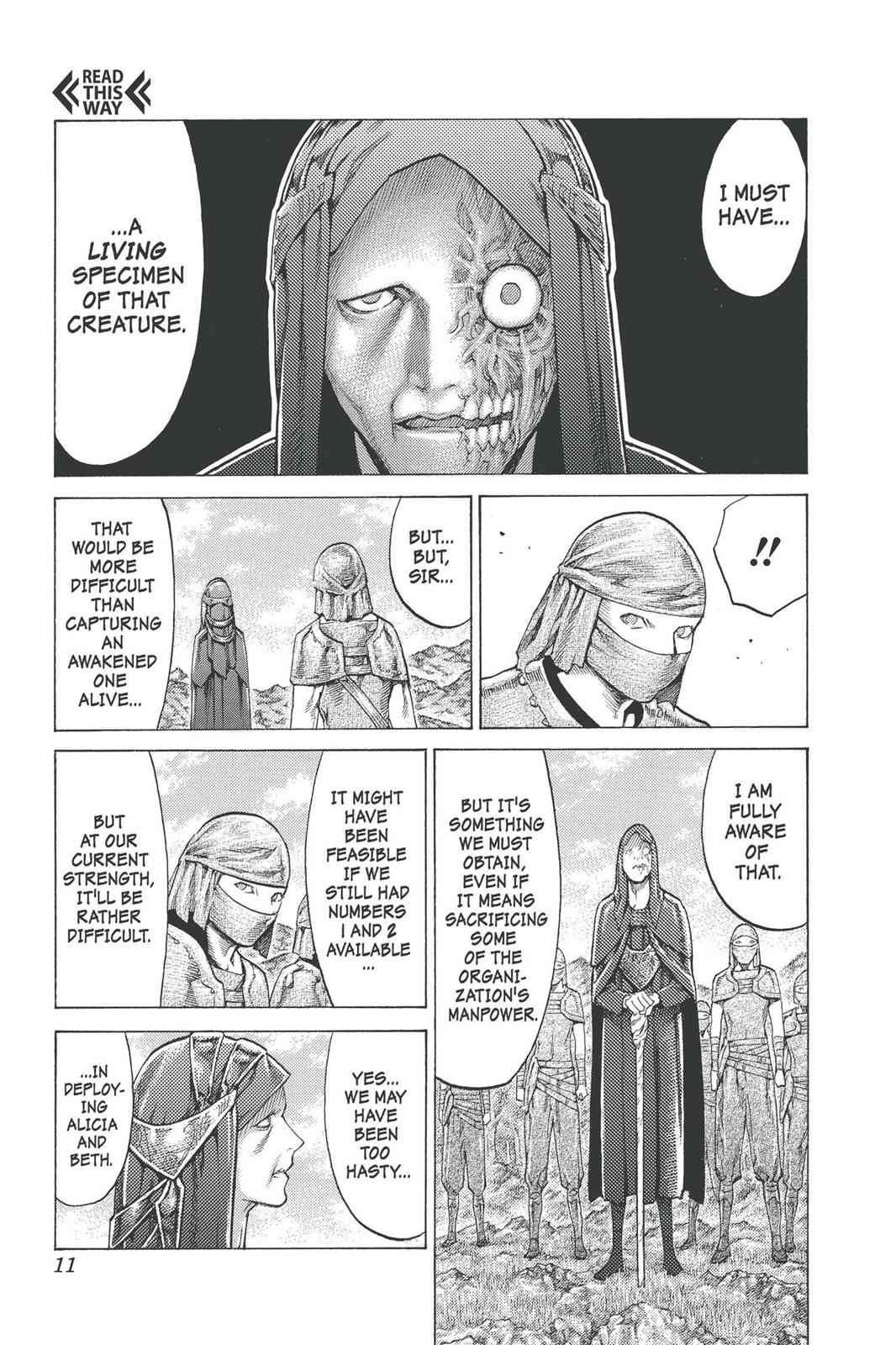 Claymore Chapter 96 Page 10