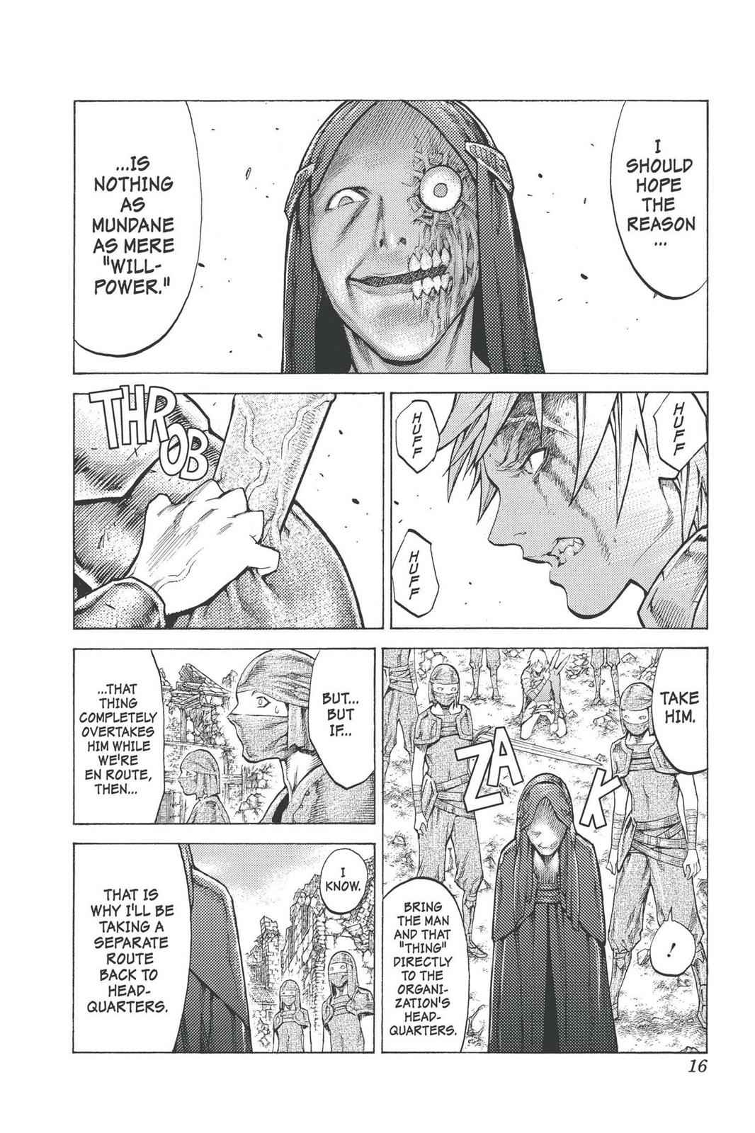 Claymore Chapter 96 Page 15