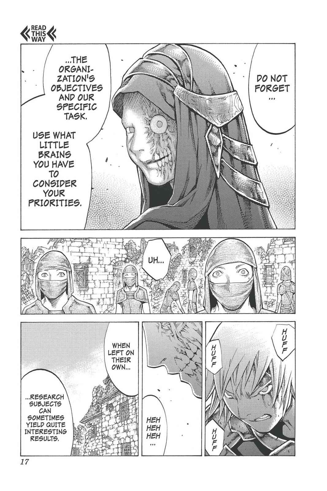 Claymore Chapter 96 Page 16