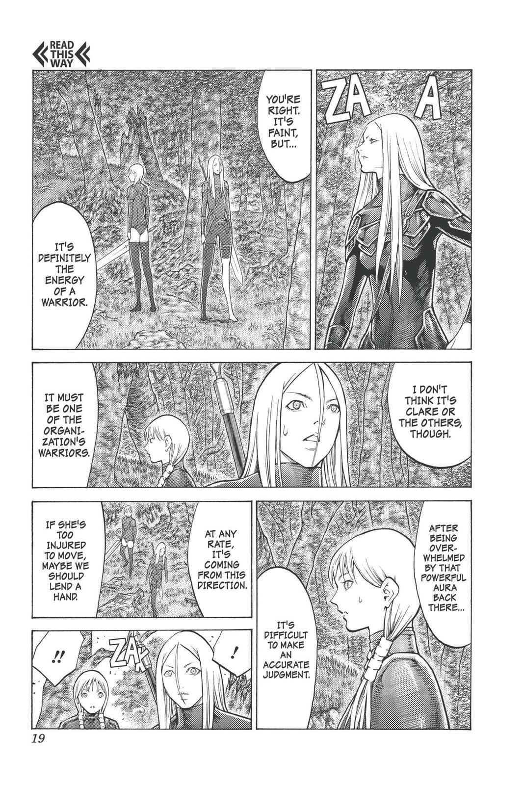Claymore Chapter 96 Page 18