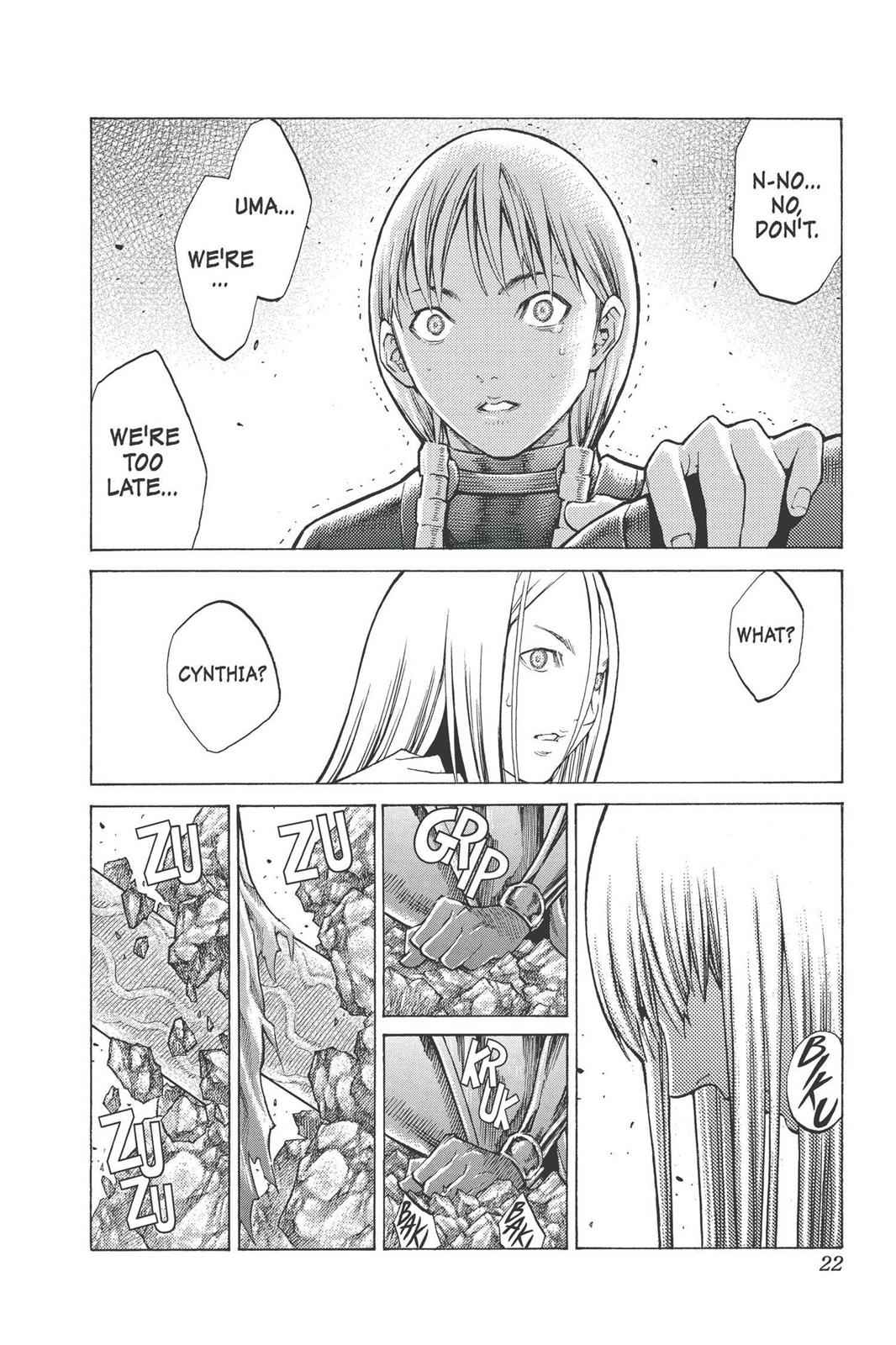 Claymore Chapter 96 Page 21