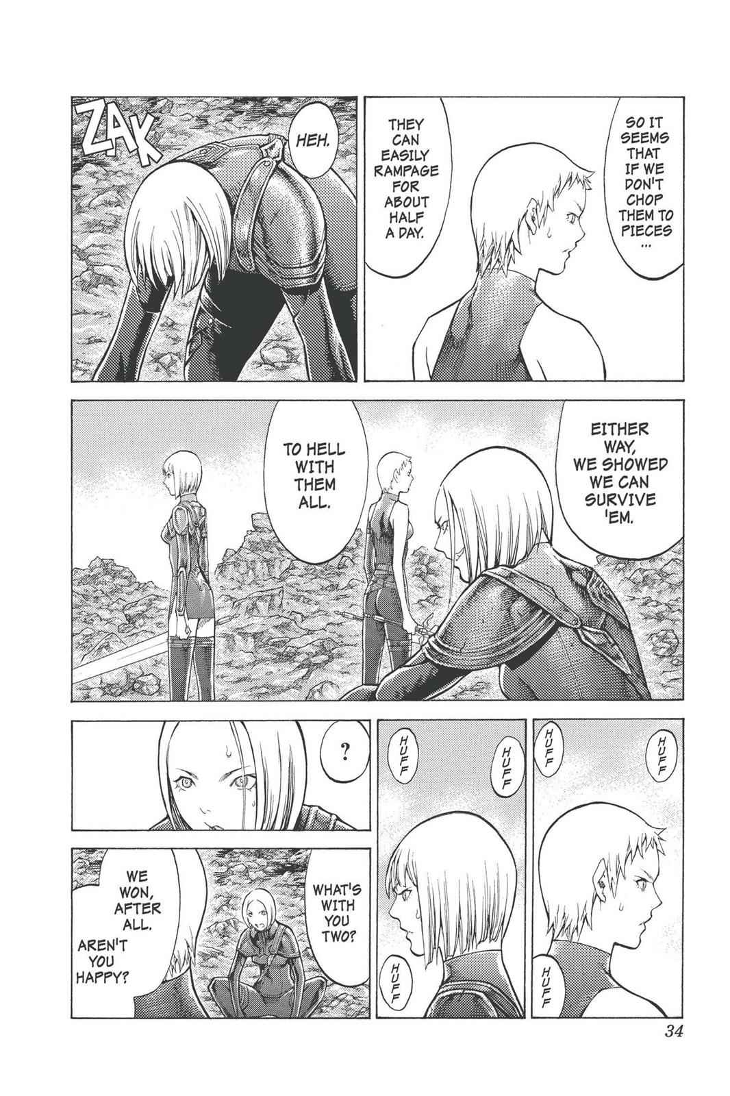 Claymore Chapter 96 Page 31