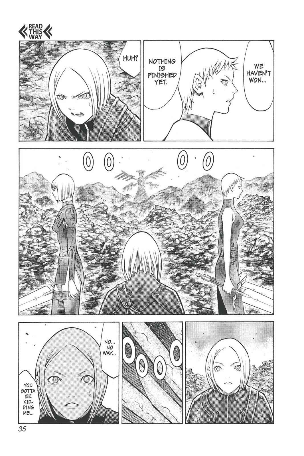 Claymore Chapter 96 Page 32