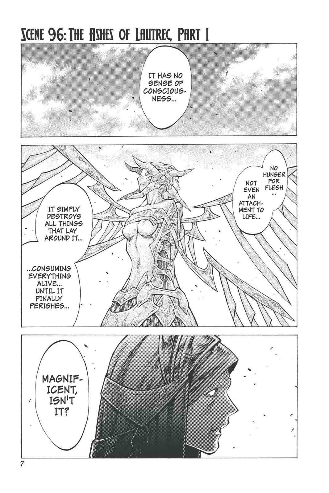 Claymore Chapter 96 Page 7