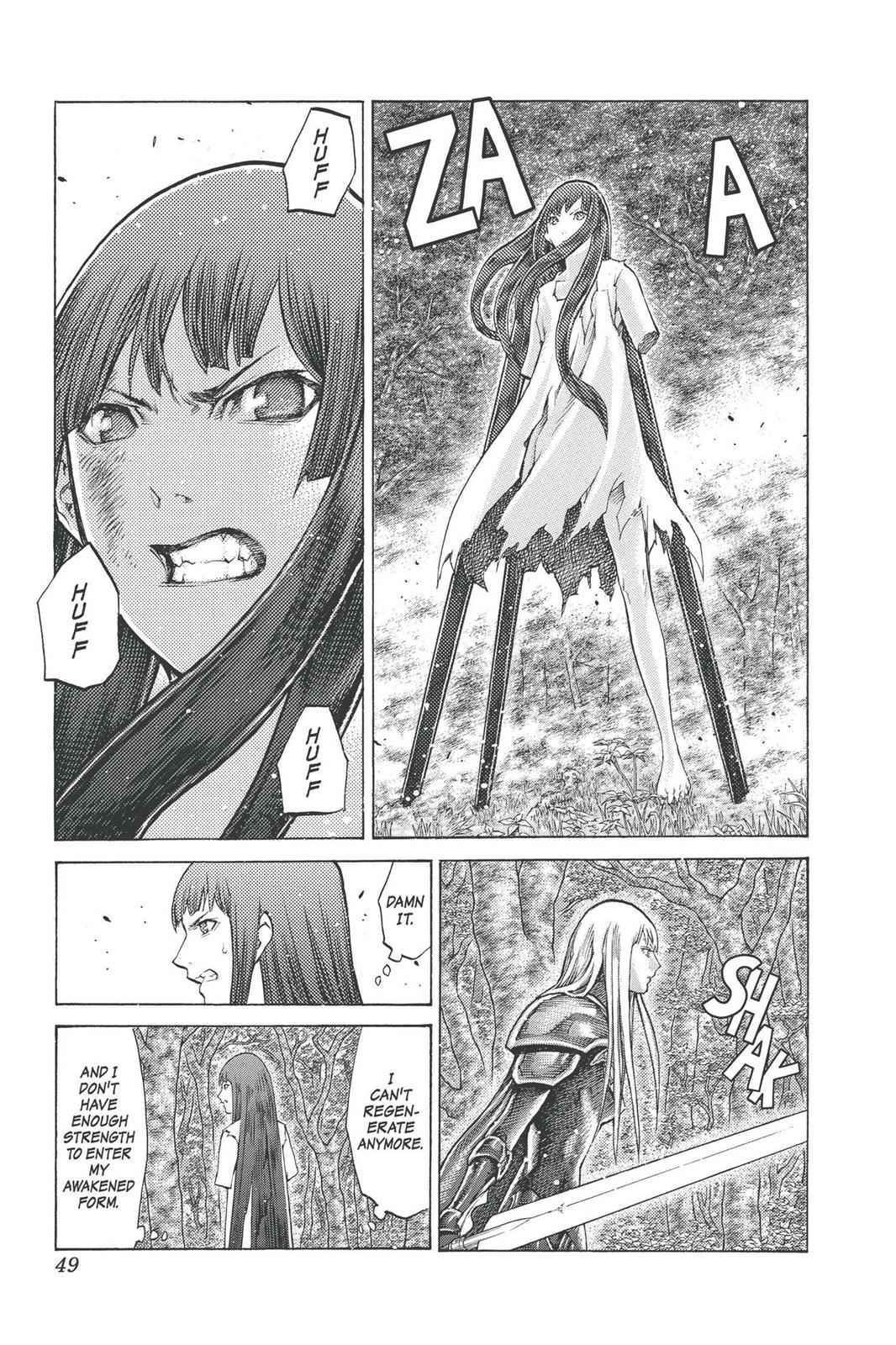 Claymore Chapter 97 Page 10
