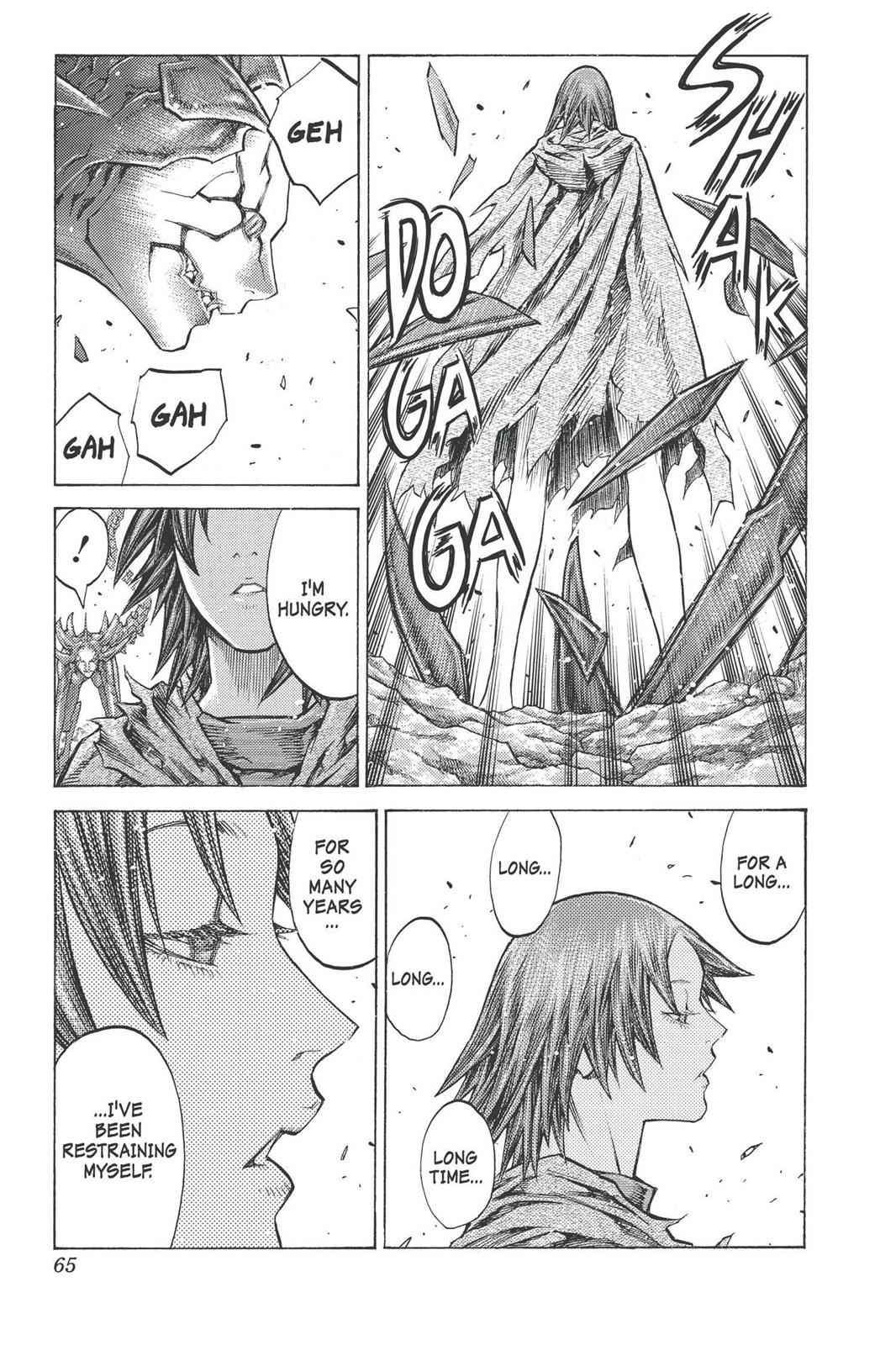 Claymore Chapter 97 Page 24