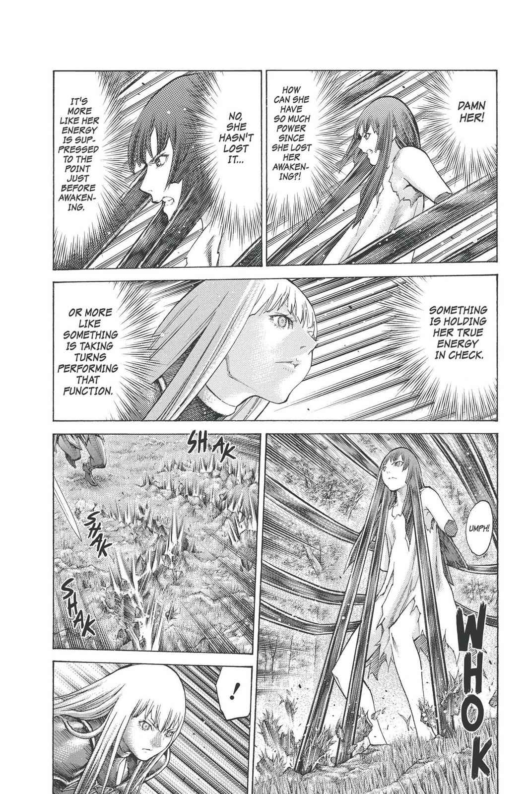 Claymore Chapter 97 Page 3