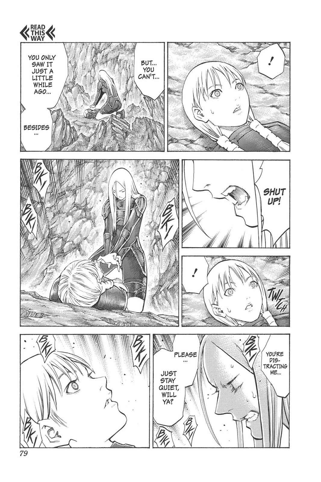 Claymore Chapter 98 Page 10