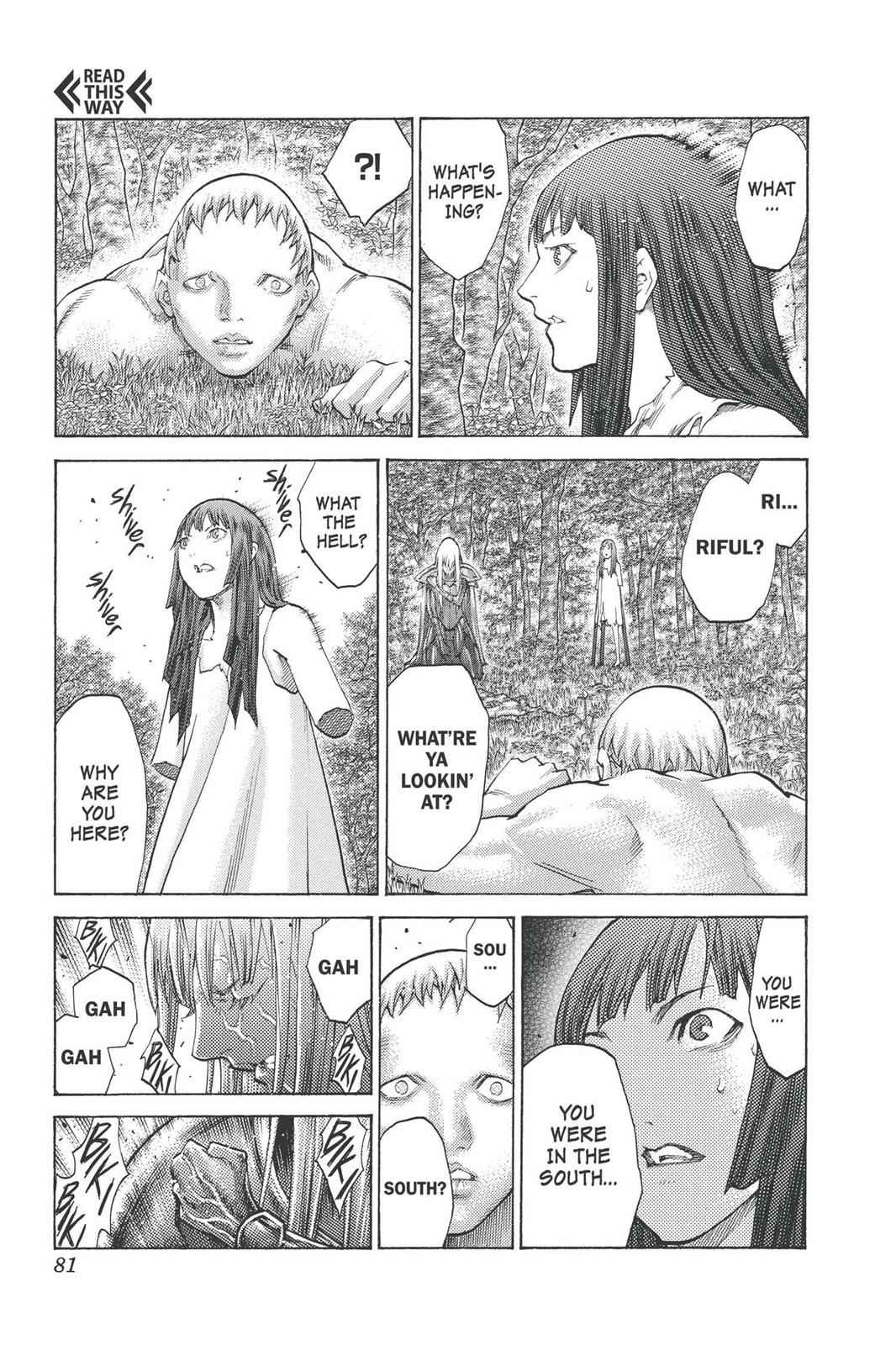 Claymore Chapter 98 Page 12