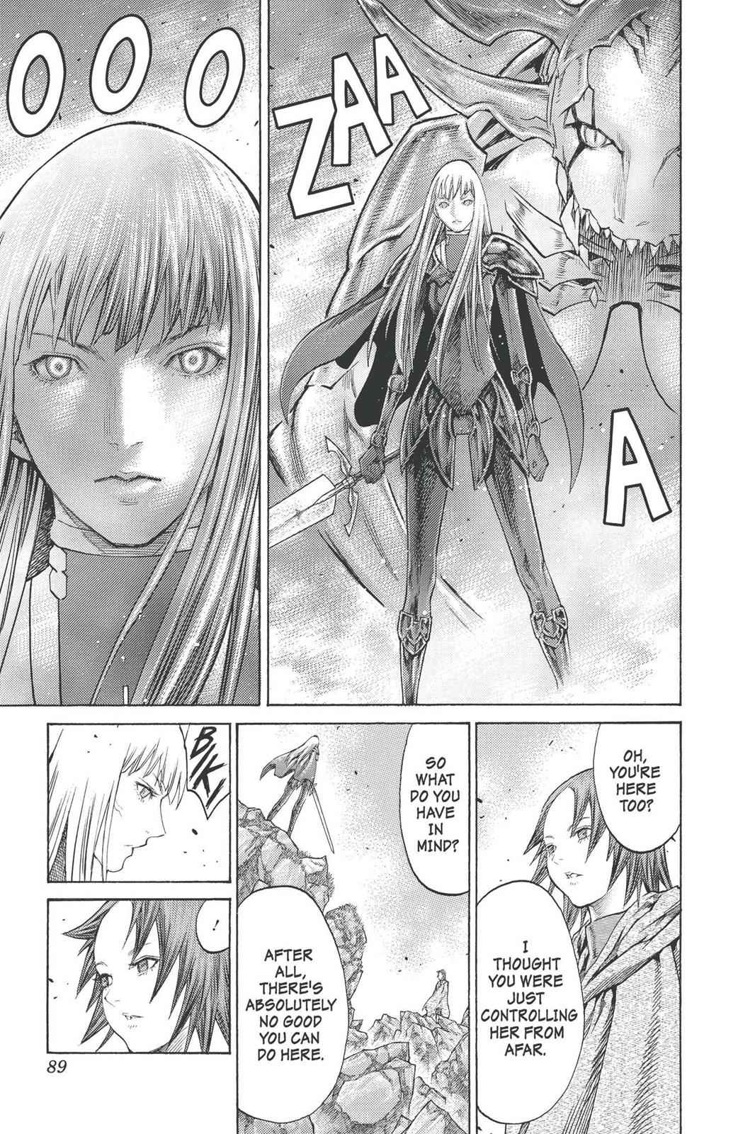 Claymore Chapter 98 Page 20