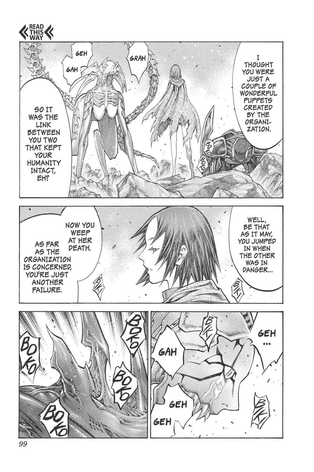 Claymore Chapter 98 Page 29