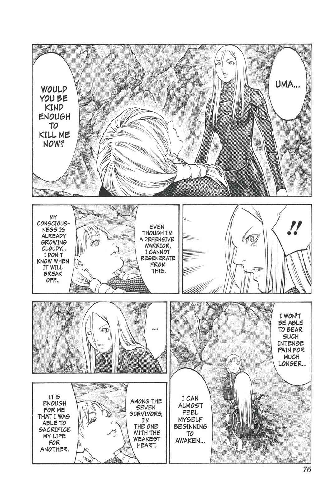 Claymore Chapter 98 Page 7