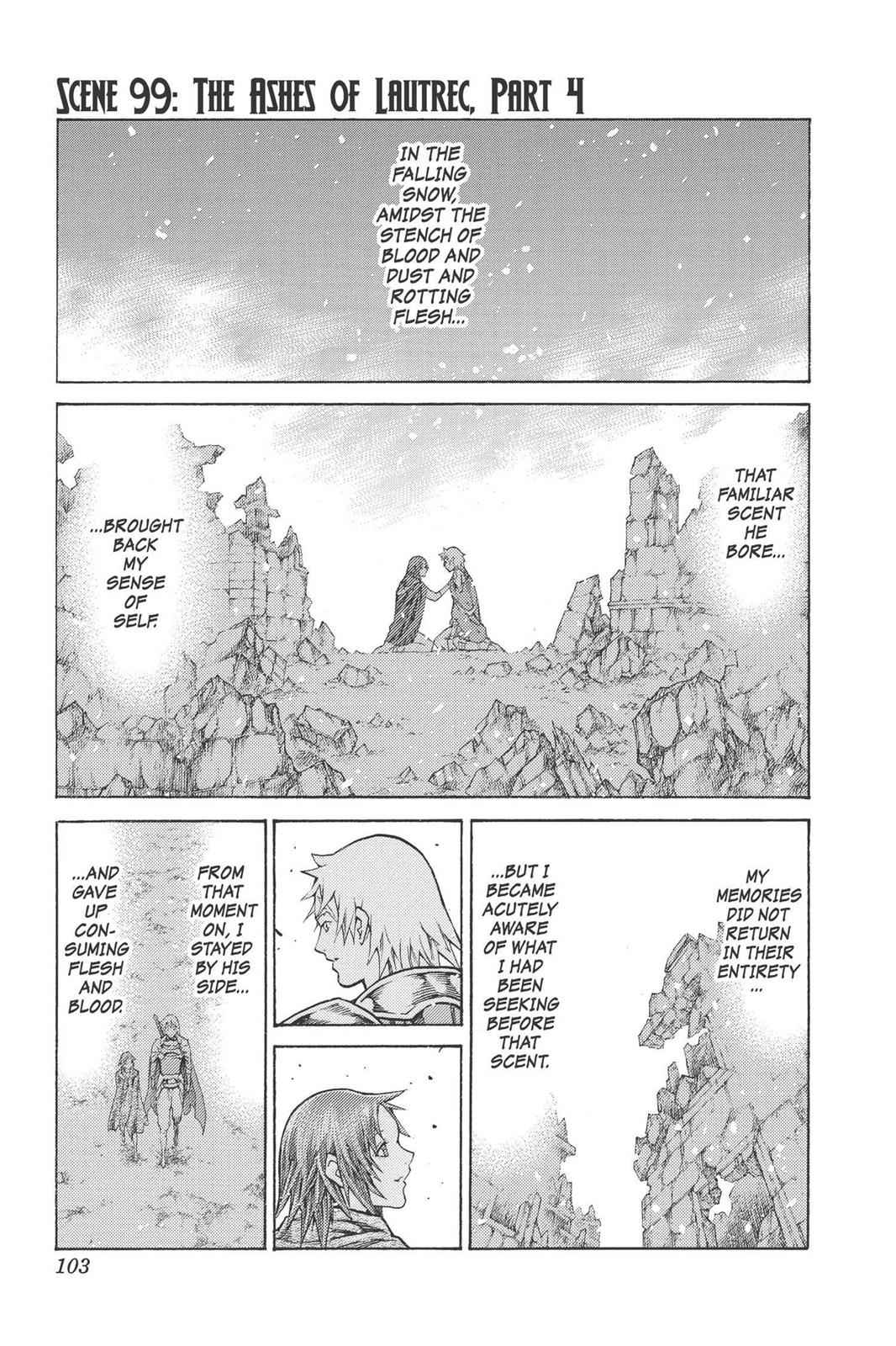 Claymore Chapter 99 Page 1