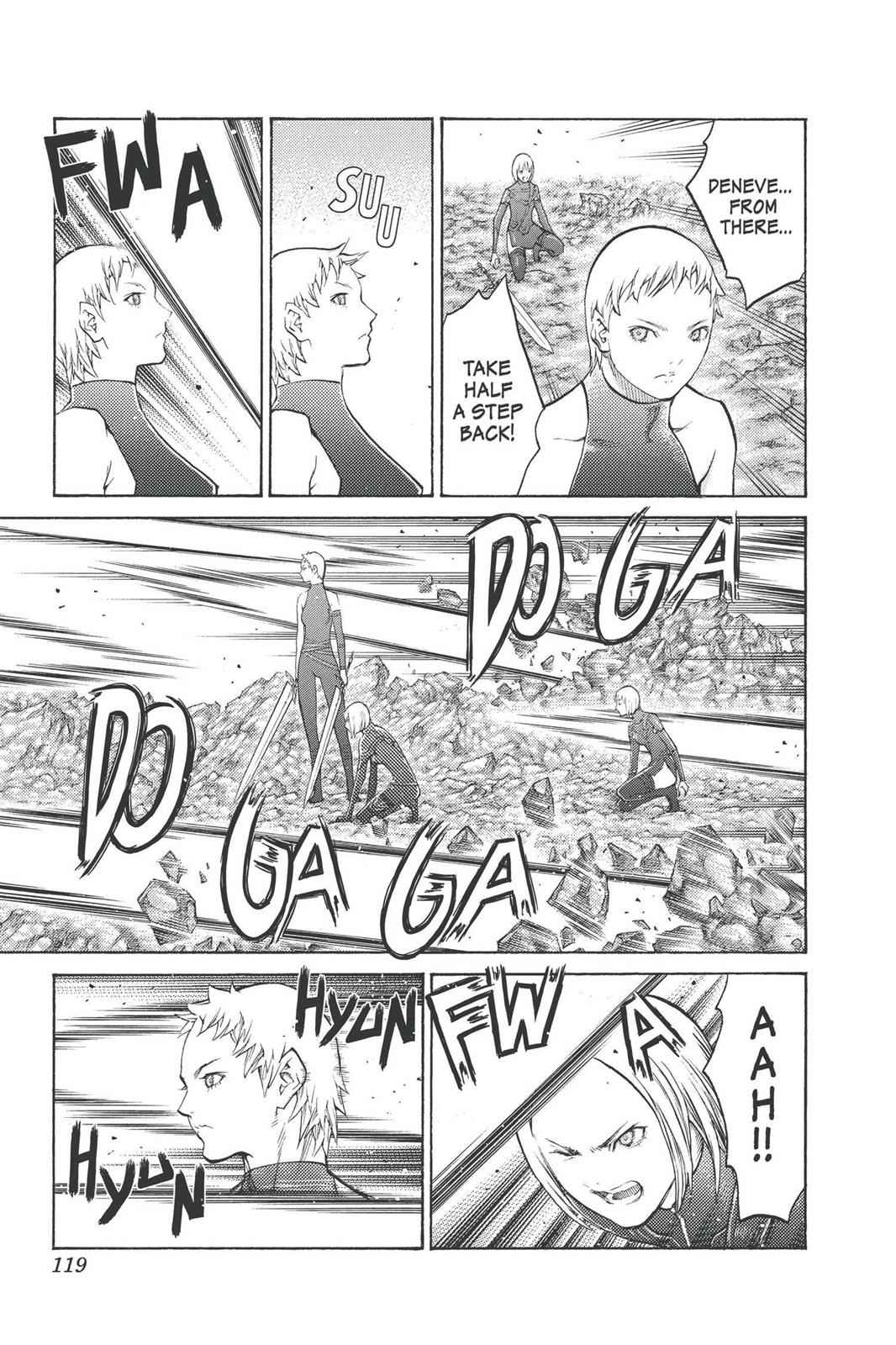 Claymore Chapter 99 Page 15
