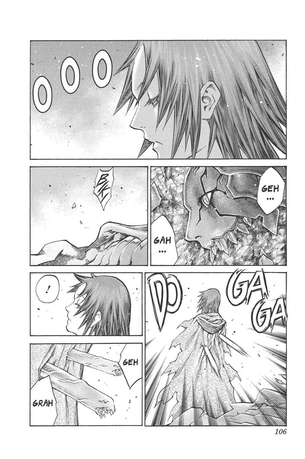 Claymore Chapter 99 Page 3
