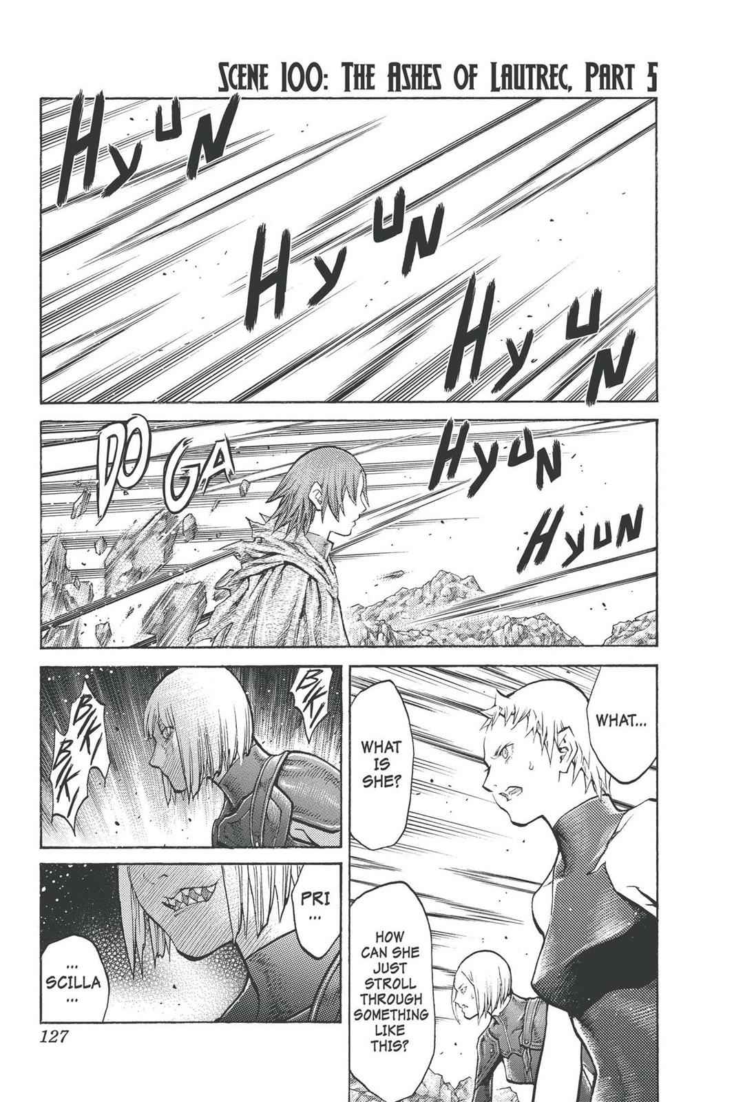 Claymore Chapter 100 Page 1