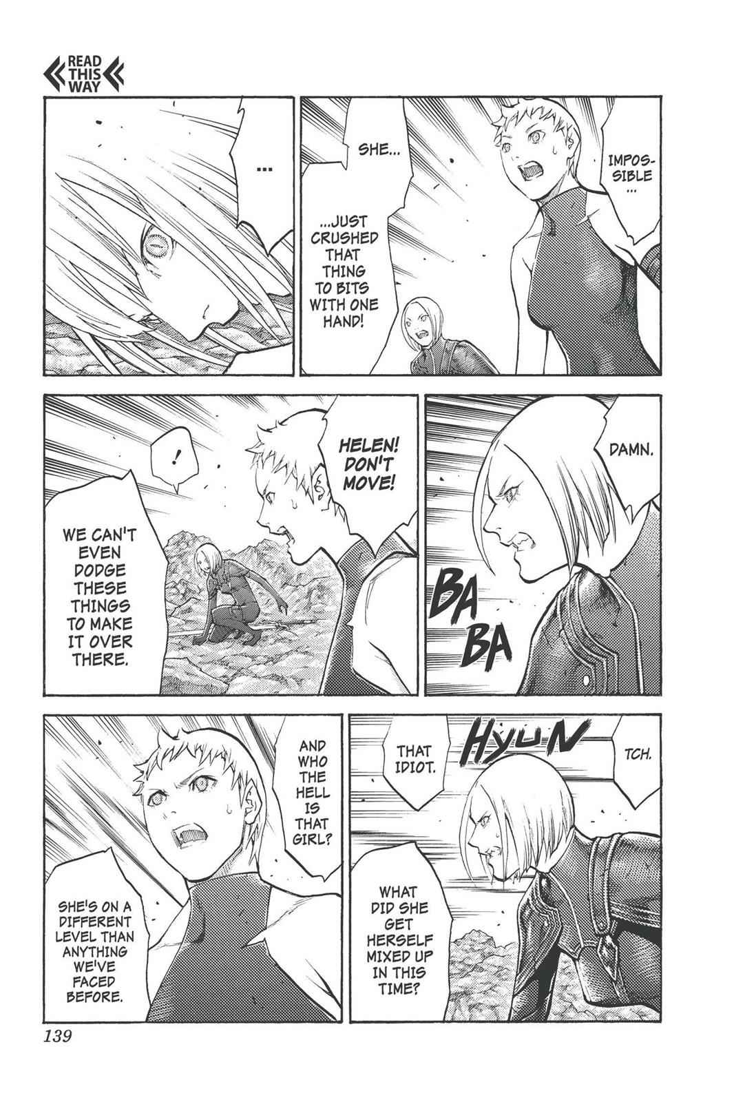 Claymore Chapter 100 Page 11