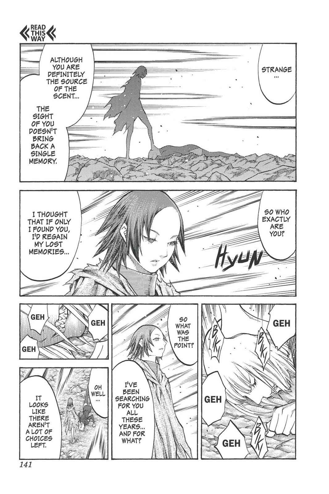 Claymore Chapter 100 Page 13