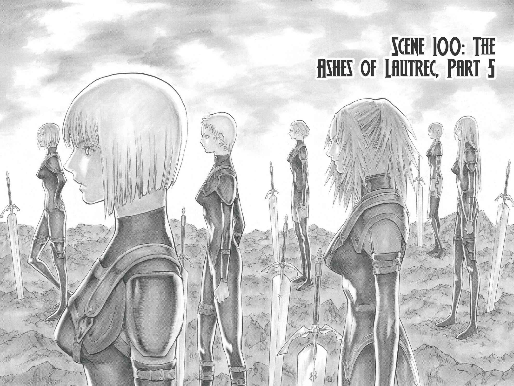 Claymore Chapter 100 Page 2