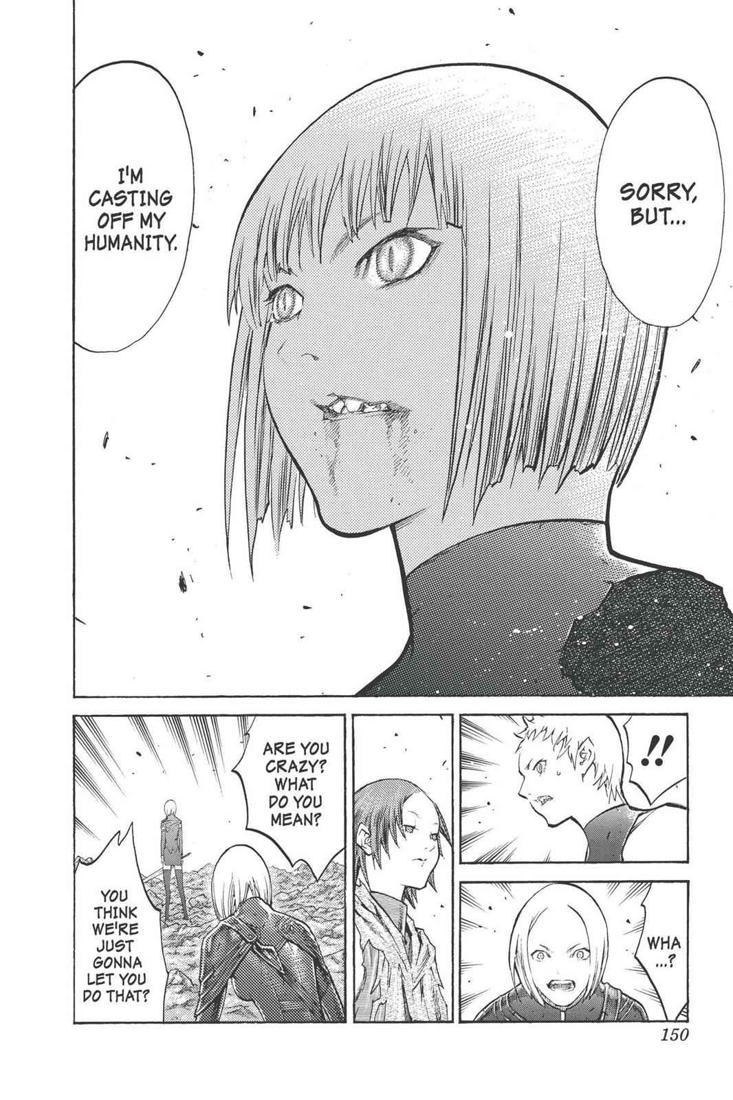 Claymore Chapter 100 Page 22