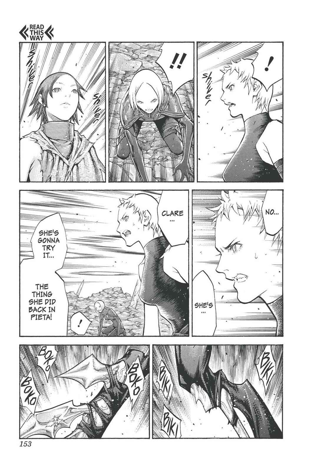 Claymore Chapter 100 Page 25