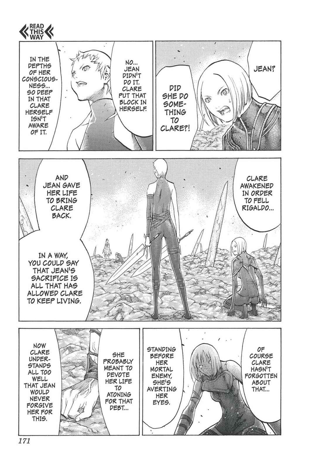 Claymore Chapter 101 Page 11