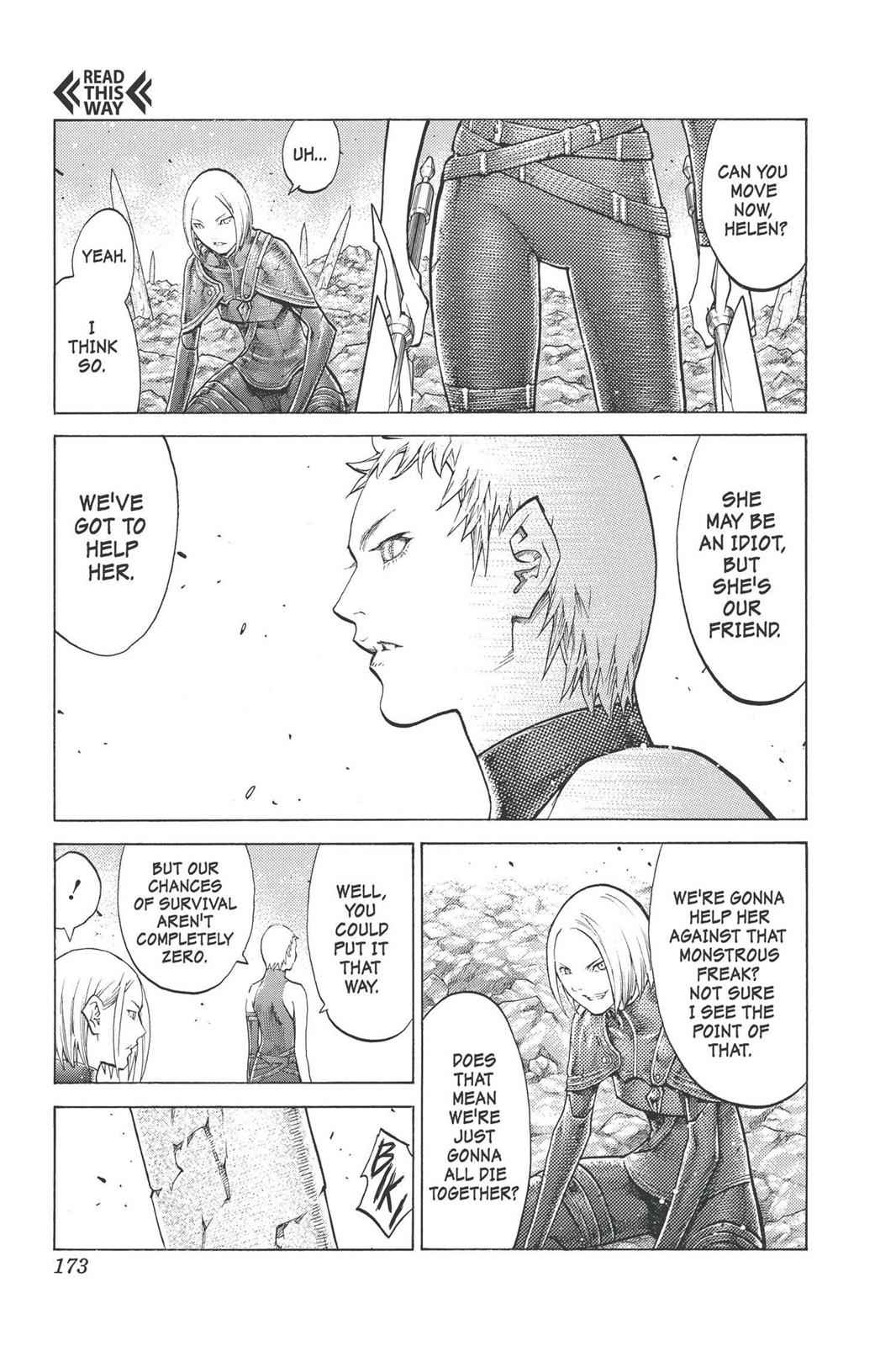 Claymore Chapter 101 Page 13