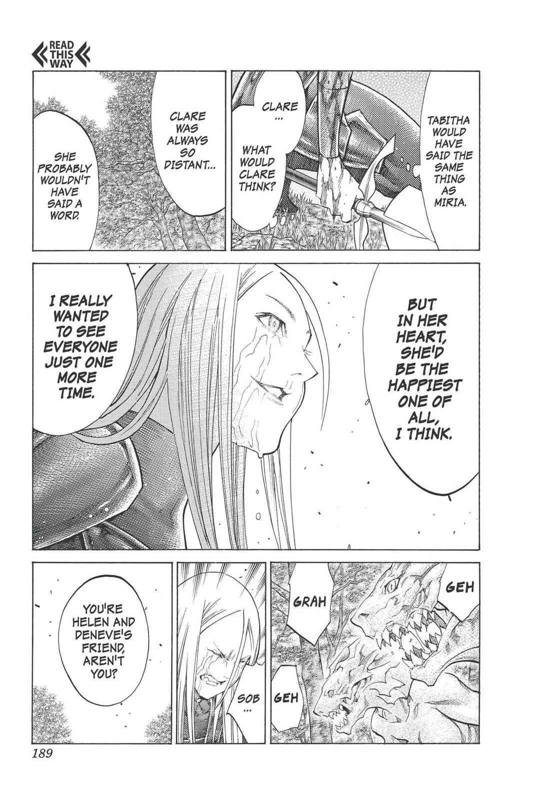 Claymore Chapter 101 Page 29