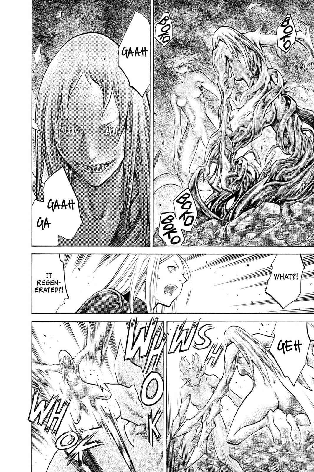 Claymore Chapter 102 Page 13