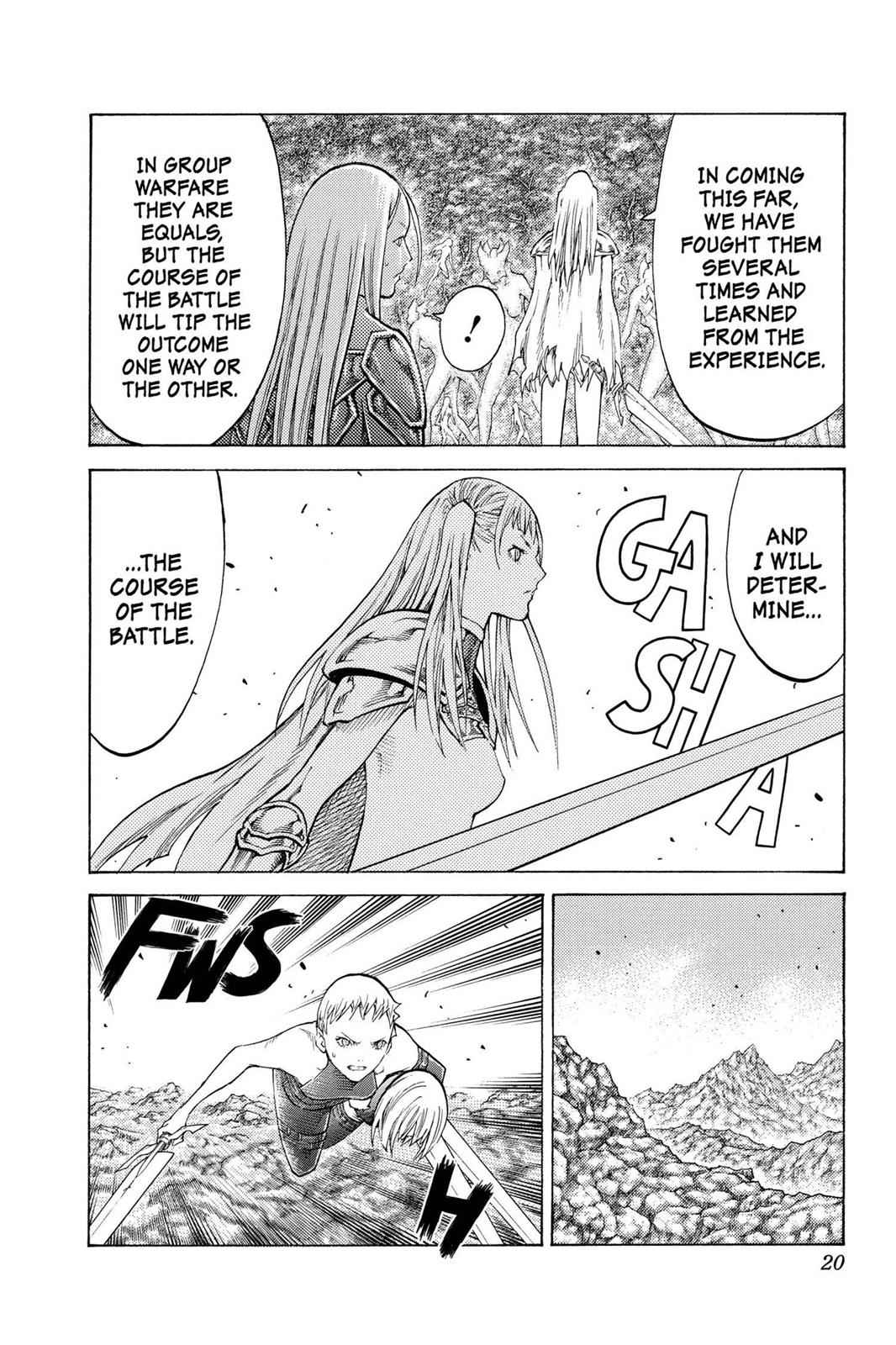 Claymore Chapter 102 Page 19