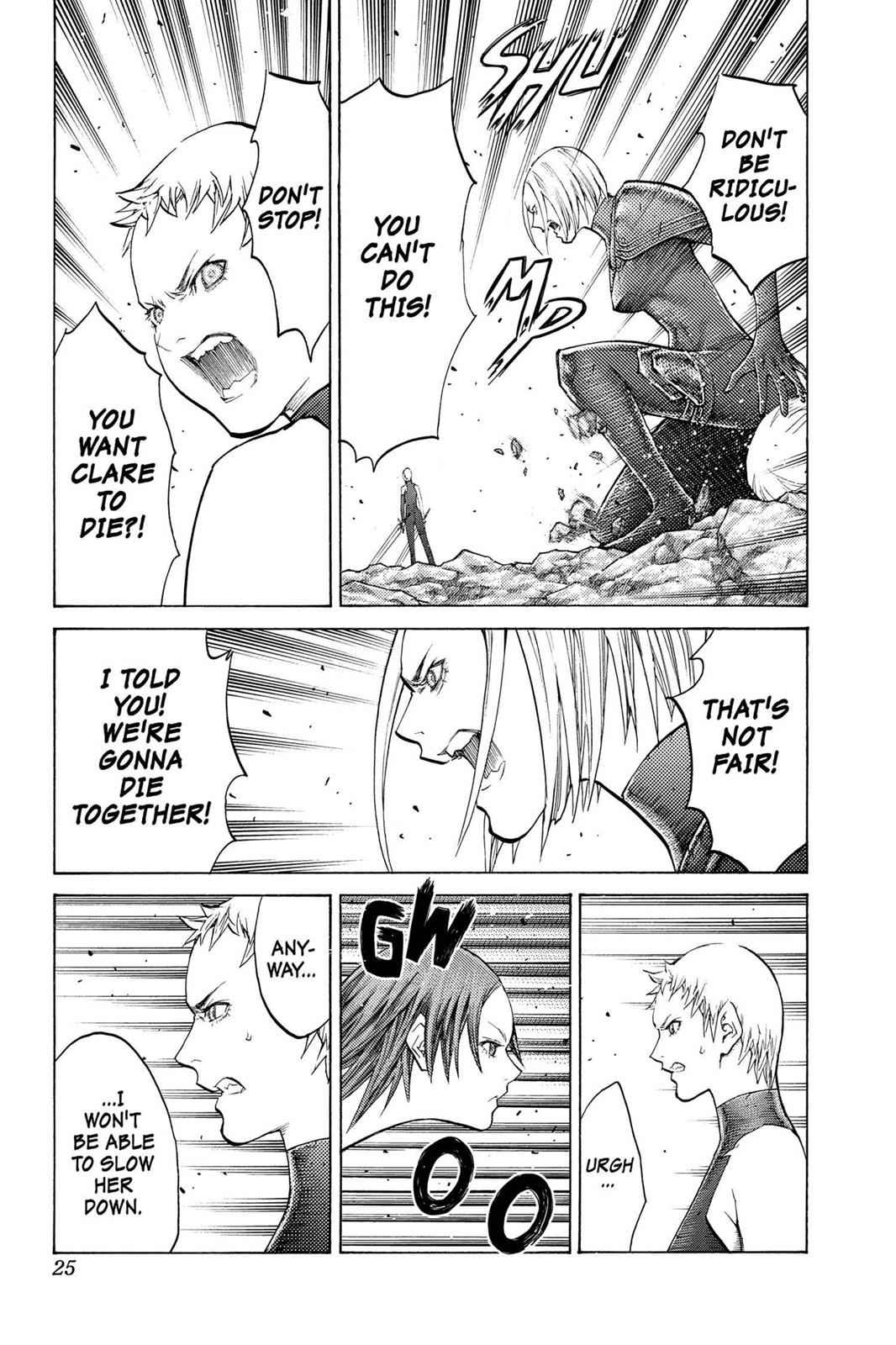 Claymore Chapter 102 Page 24