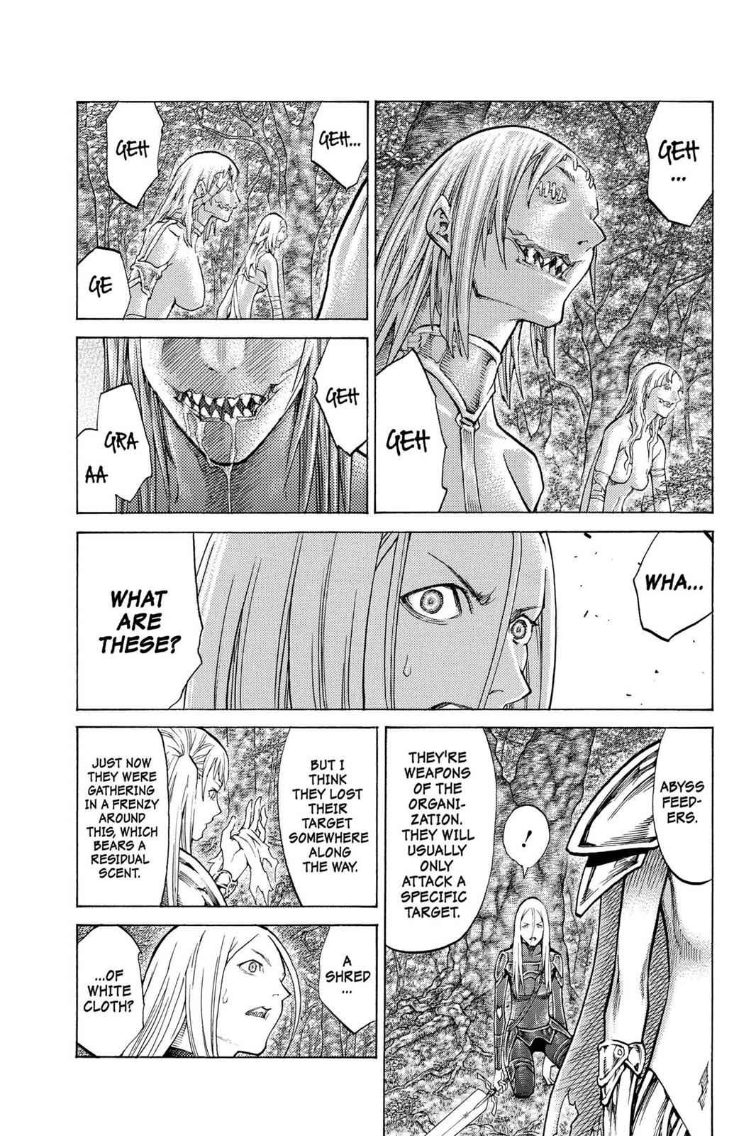 Claymore Chapter 102 Page 9