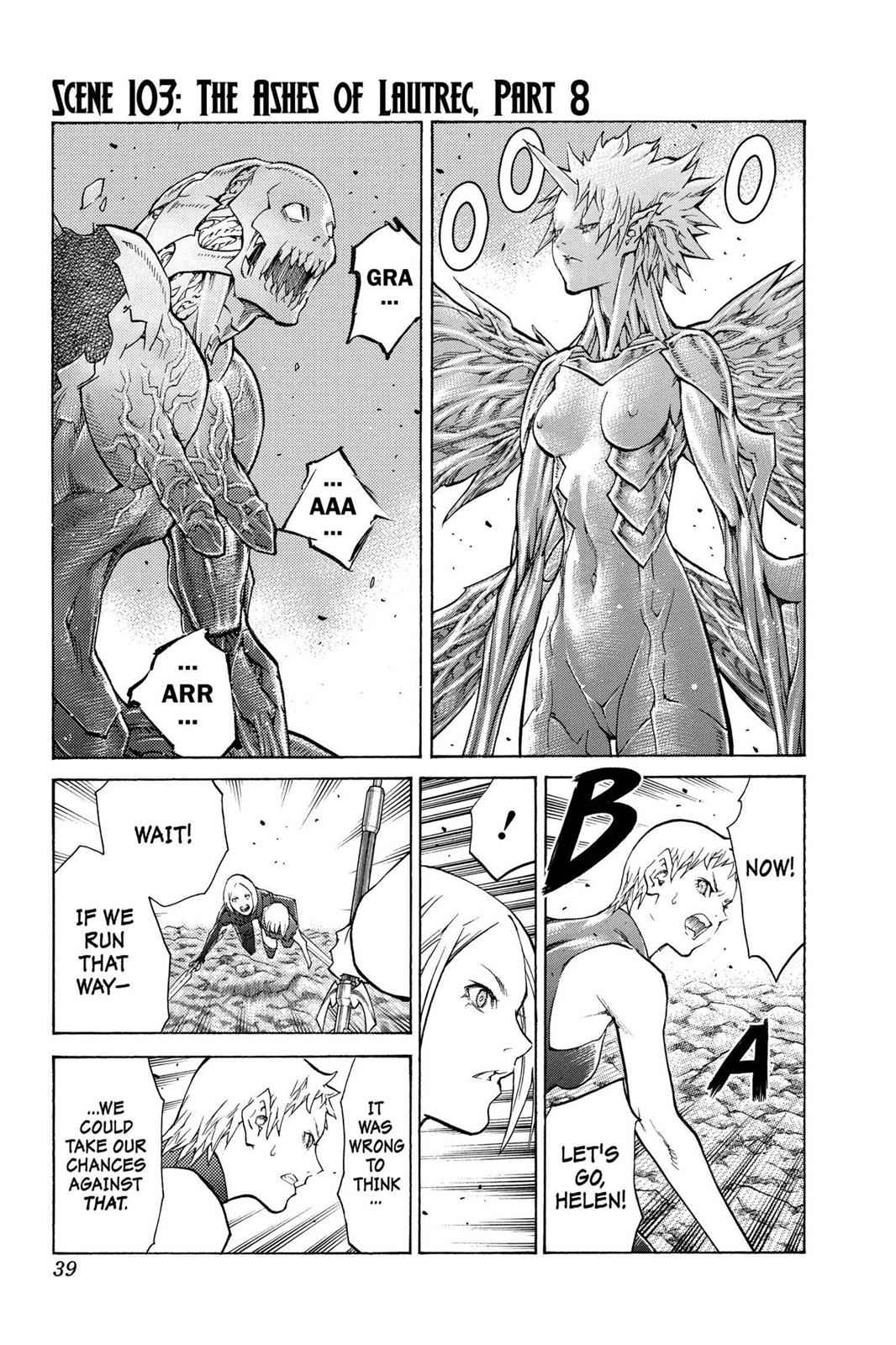 Claymore Chapter 103 Page 1