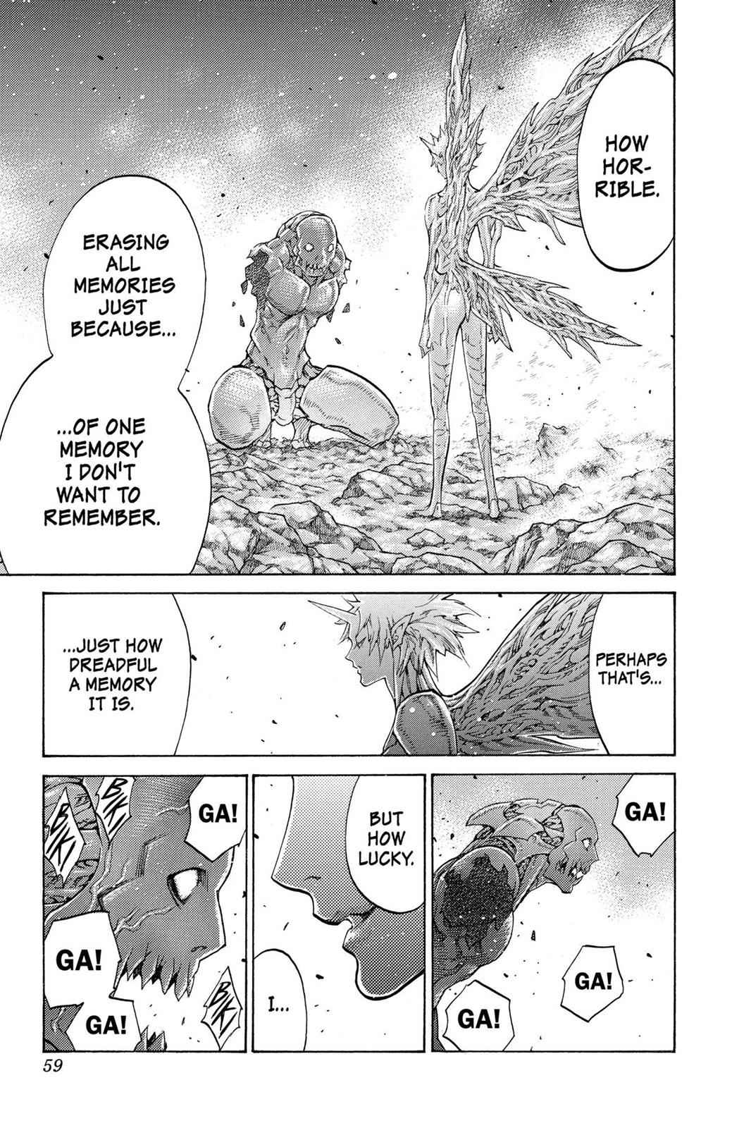 Claymore Chapter 103 Page 20