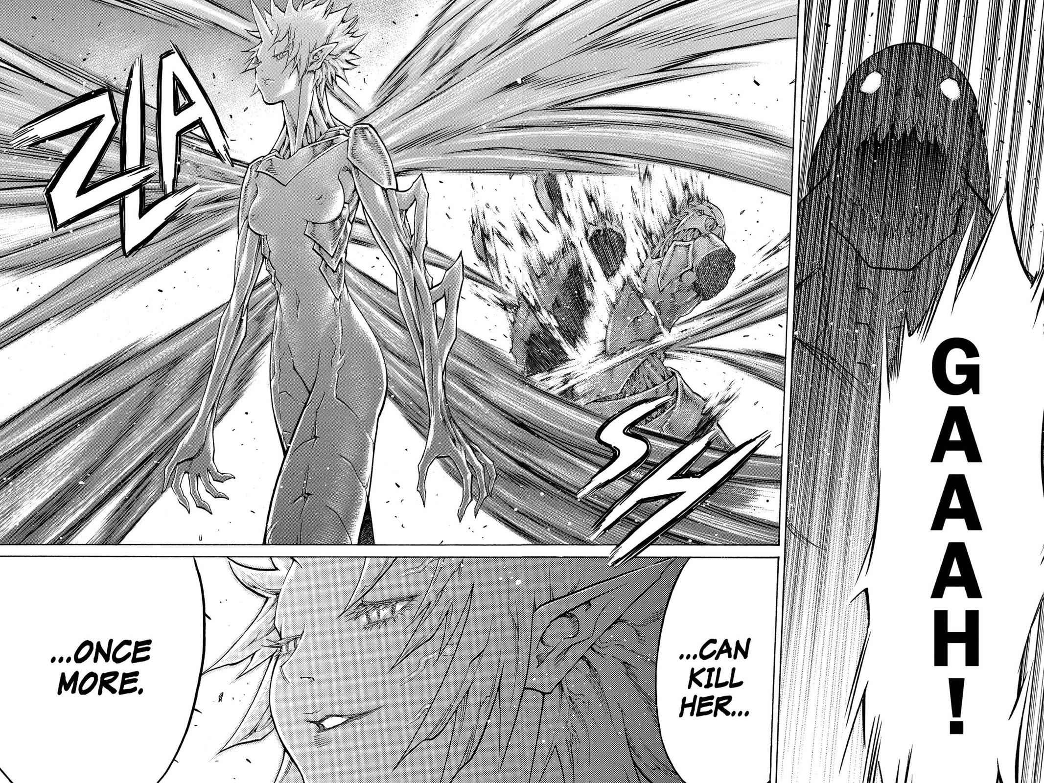 Claymore Chapter 103 Page 21
