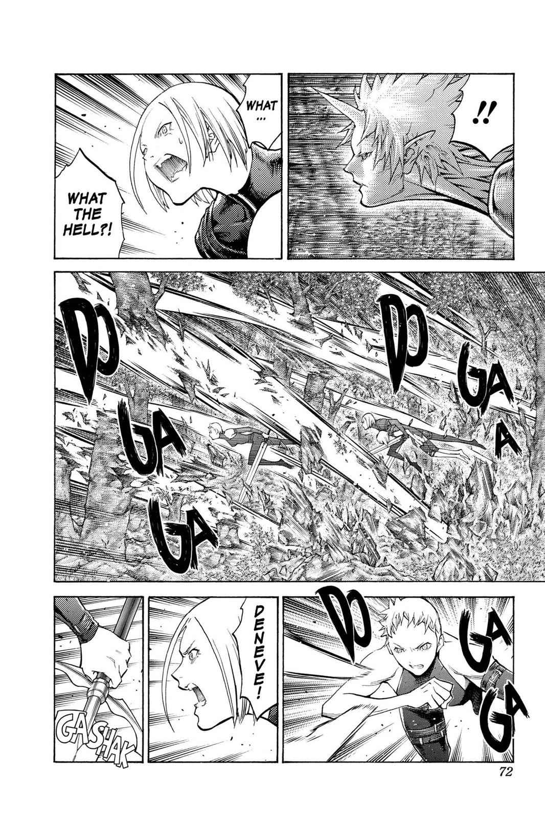 Claymore Chapter 104 Page 8