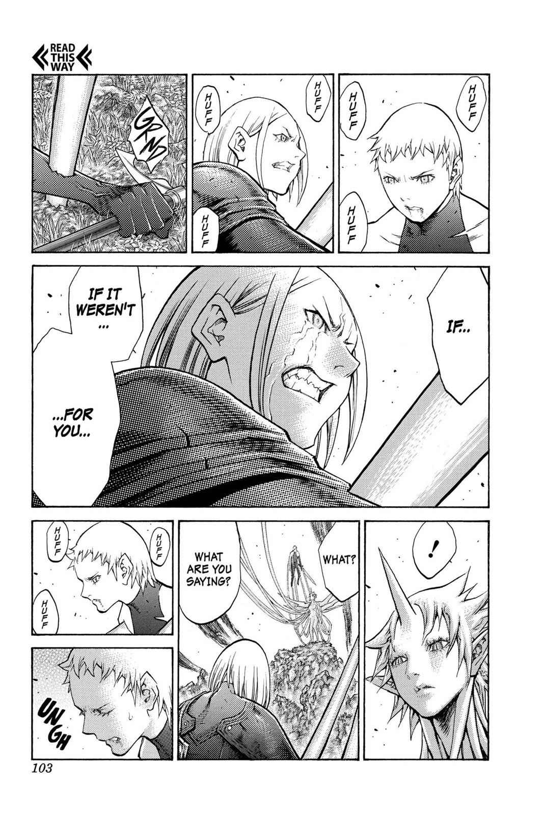 Claymore Chapter 105 Page 10