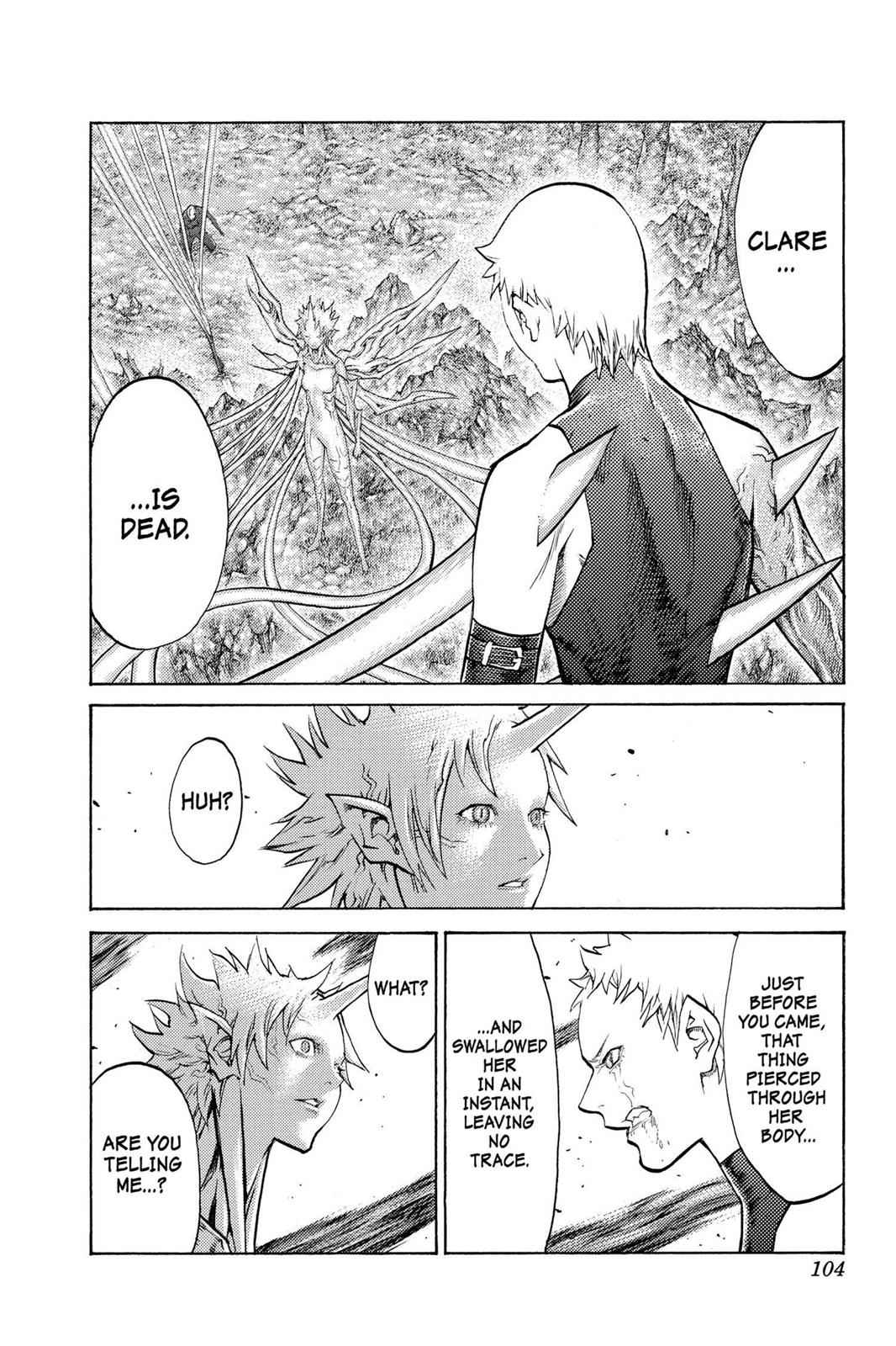 Claymore Chapter 105 Page 11
