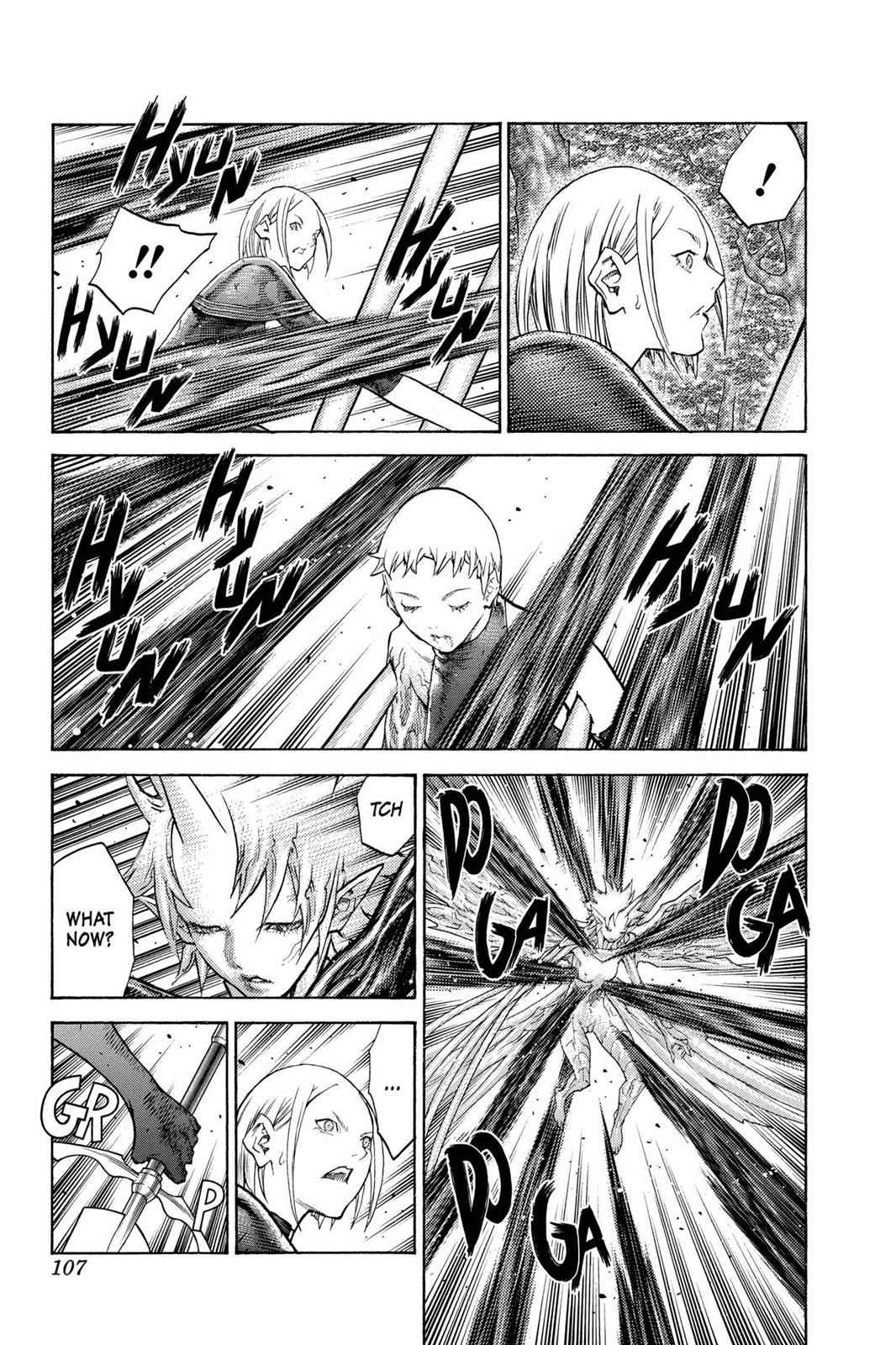 Claymore Chapter 105 Page 14