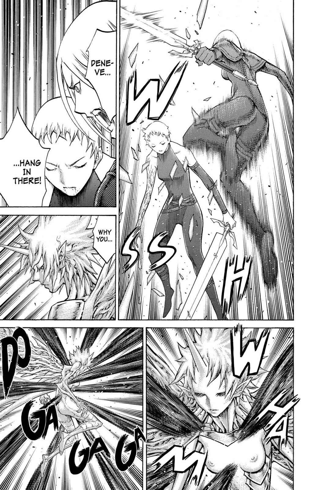 Claymore Chapter 105 Page 16