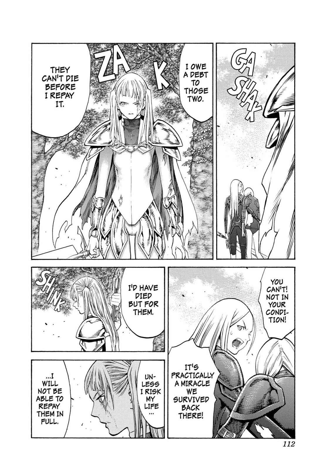 Claymore Chapter 105 Page 19